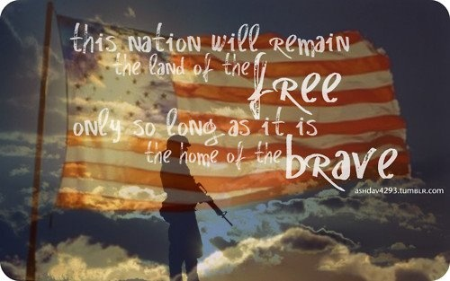 a critique of the idea that america is the land of the free and the home of the brave