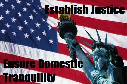 """The Preamble – Part V: """"insure domestic tranquility"""" – Frank Kuchar"""